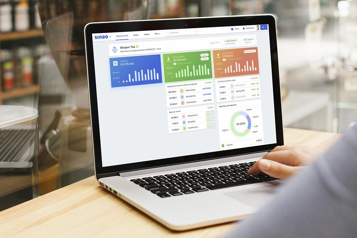 Sinao, le logiciel de gestion le plus simple !
