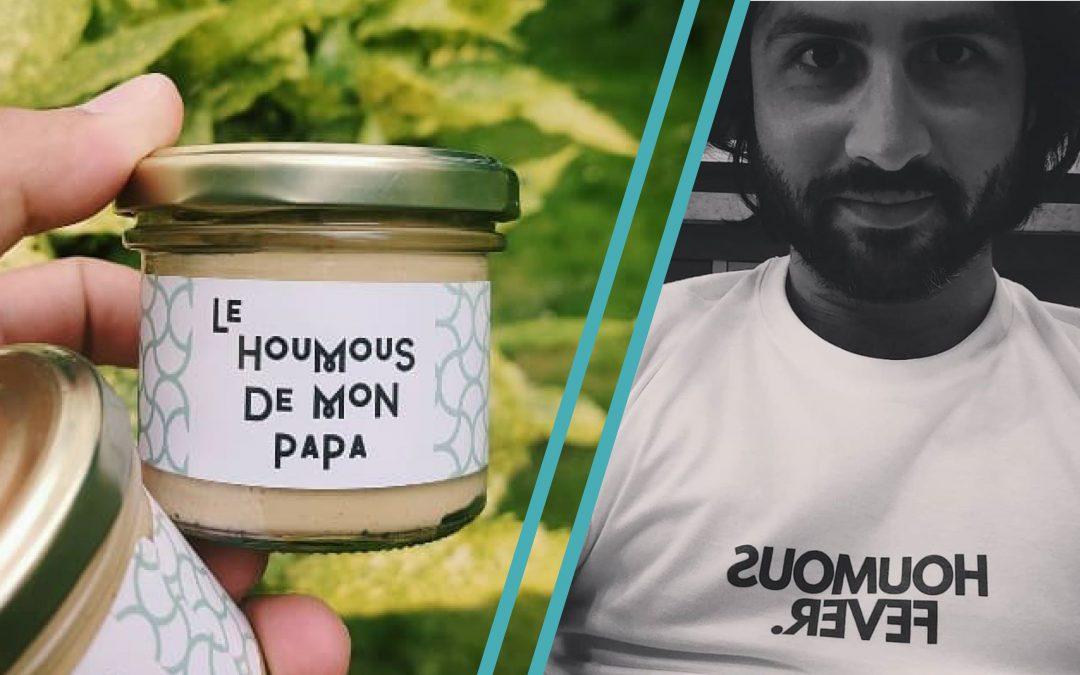 INTERVIEW – Julien, fondateur du Houmous de mon Papa