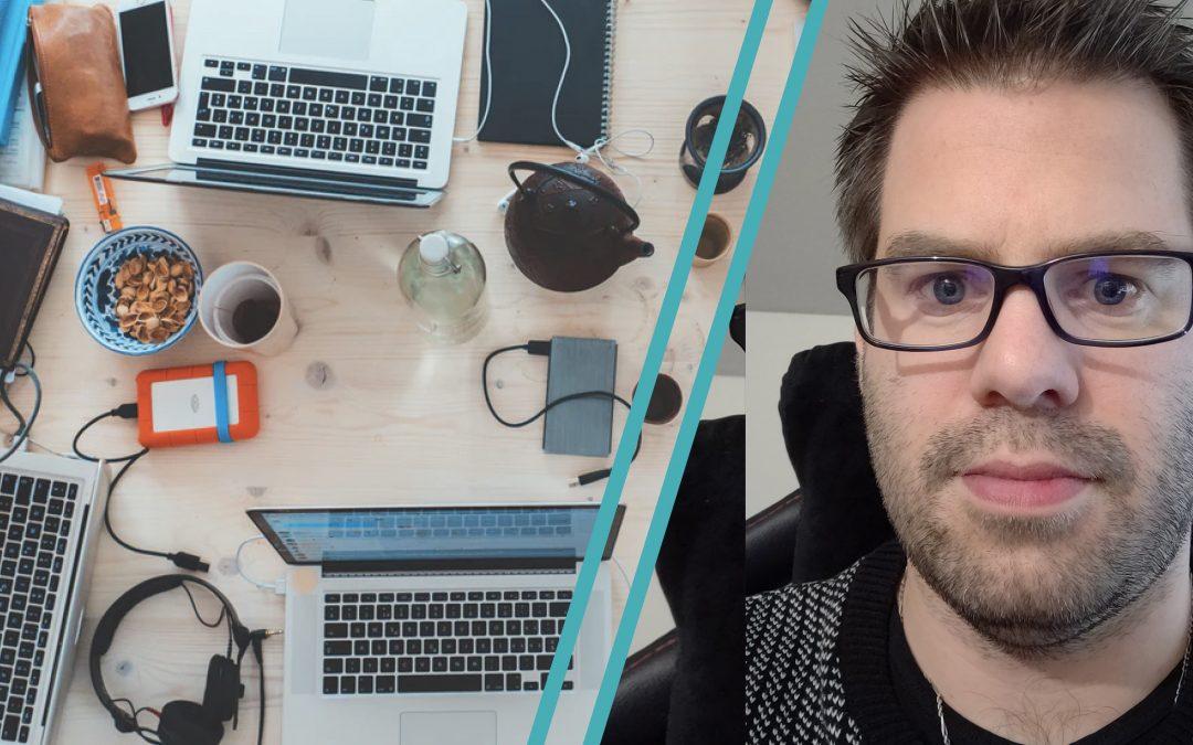 Portrait d'entrepreneur : Nicolas, consultant en informatique