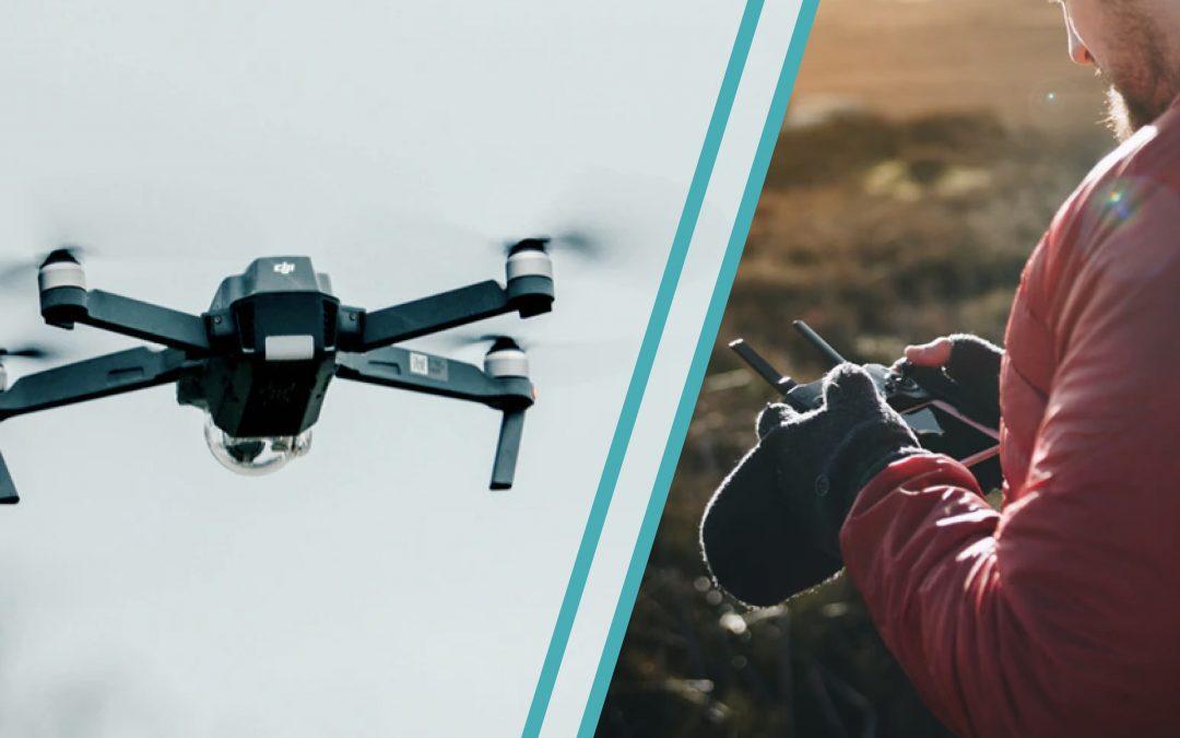 Portrait d'entrepreneur : Thierry Alibert lance son entreprise de drones agricoles